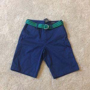 NWT boys Polo Ralph Lauren knee length shorts